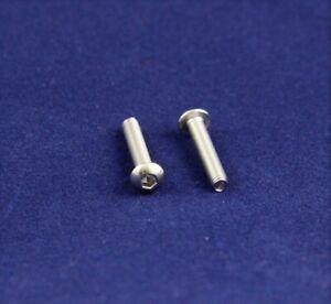 Linsenkopfschrauben ISO 7380 Innen-Sechskant V2A l M 3 Länge 4 bis 30 mm/ 25 St