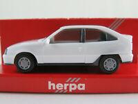 Herpa 2046 Opel Kadett E GSi (1984-1991) in weiß 1:87/H0 NEU/OVP