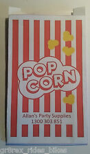 Bulk Pack 100 Popcorn Bags,Movie Night, Birthday Parties,Paper Popcorn Bags