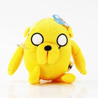 Adventure Time Finn Jake Beemo BMO Soft Figure Anime Plush Toy Doll Keychain