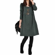 Ladies Long Sleeve Casual Dresses for Women