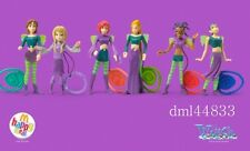 2005 McDonalds Witch MIP Complete Set - Lot of 6, Girls, 3+