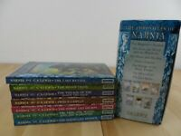 Complete Chronicles of Narnia by CS Lewis Box Set