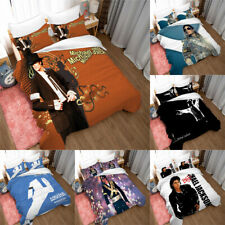 Michael Jackson 3PCS Bedding Set Duvet Cover Pillowcases Twin Full Queen King