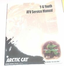 ARTIC CAT 2000 SERVICE MANUAL Y-6 YOUTH  ATV MANUAL	2257-191