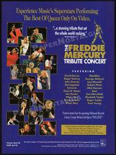 The Freddie Mercury Tribute Concert_Original 1993 Trade print Ad promo / advert