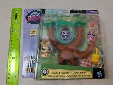 Littlest Pet Shop Treats & Treetops Pets in the City 245-246 3 Pets Monkey Snail
