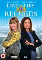 Love, Lies and Records DVD (2017) Ashley Jensen cert 12 2 discs ***NEW***
