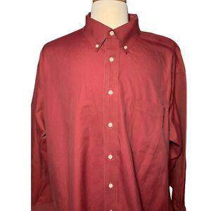 Round Tree & Yorke Gold Label Non- Iron Long Sleeve Shirt Men's 19 - 35 4XL big
