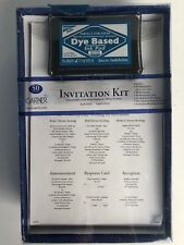 Gartner Studios Wedding Invitation's Kit 50 Invitations & Response Cards
