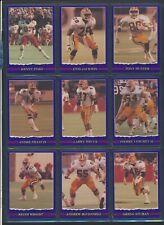 1989 JOGO Purple VariantCFL Football Cards #55-90 Very Rare MINTU-PickHam