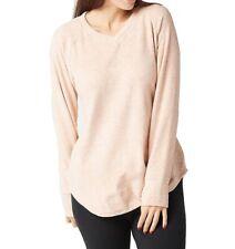 Cuddl Duds Fleecewear Women Sleepwear Beige Large L V-Neck Soft Pullover $30 148
