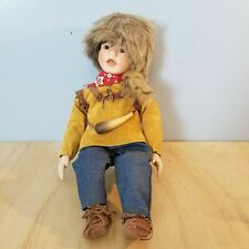Born To Be Famous Litttle Davey Crocket Porcelain Doll  Knowles w