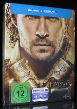 BLU-RAY THE HUNTSMAN & THE ICE QUEEN - STEELBOOK - EXTENDED EDITION *** NEU ***