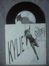 KYLIE MINOGUE  - ''SHOCKED (DNA MIX)''- SPANISH ONLY PROMO 7'' VINYL SINGLE.