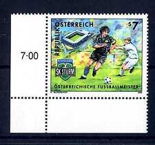 AUSTRIA - 1999 -SK Puntigamer Sturm Graz vincitore campionato austr.calci. E4453