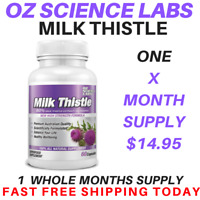 Milk Thistle Capsules Liver Detox Glutathione Skin Whitening QTY DISC BUYS