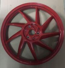 8208209 Cerchio Posteriore Rosso Aprilia Af1 50 1989