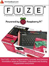 Fuze powered by Raspberry Pi V3- With Printed Project cards and More!