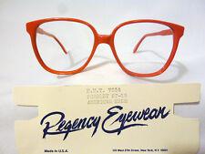 Regency By Tart Optical Vintage Ladies Eyeglass Frame HMT7554 Scarlet 57-15 NOS