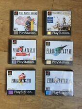 Final Fantasy Origins 1 2, Anthology 4 5, 6, 7, 8, 9 Bundle Playstation 1