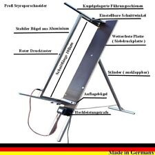 Styroporschneidegerät 102 cm Gr.S Styroporschneider Styropor Cutter WDVS S596732