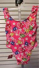 Little Girls Teddy Bear Print Bathing Suit 18-23 mos.