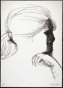 Emilio GRECO - Paola - 1969 - litografia originale firmata -