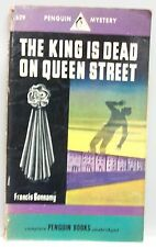 THE KING IS DEAD ON QUEEN STREET Francis Bonnamy vintage PB Mystery