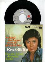 Rex Gildo    -     Schließ die Augen, wenn du glücklich bist