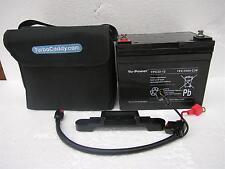Yuasa 12v 33ah 36 Hoyos batería de ciclo profundo Trajes todo Electrico Carro De Golf 24ah