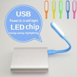 1/5/10x Mini USB LED Light Lamp Flexible Bright For Computer/Laptop/Notebook Lot
