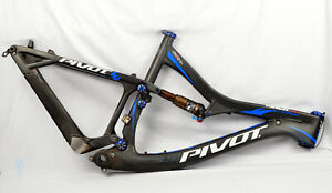 "2014 Pivot Mach 429 Carbon Med 29"" Full Suspension Mountain Bike MTB Fox Float"