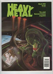 Heavy Metal Volume 6 No. 12 March 1983 Good