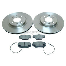 RENAULT CLIO MK2 1.2 CAMPUS FRONT 2 BRAKE DISCS & PADS (CHECK DISC SIZE 259MM)