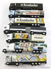 7 Stk LKW + Anhänger Sammler Edition Krombacher Pils ca. 1:87 X00001-11031