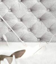J22619 Galerie Bluff Fabric Chesterfield Headboard Effect Feature Wallpaper