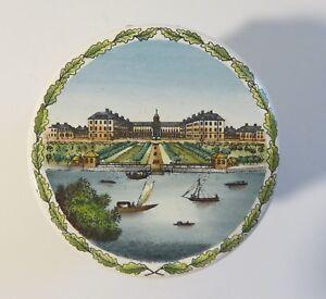 Halcyon Days Enamel LE Drum Box 1682-1982 Tercentenary of Royal Hosp Chelsea COA