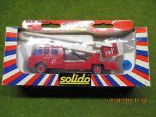 Solido Toner Gam II Pompier Berliet Nacelle N°3112 en boite