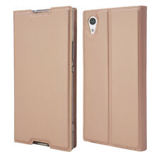 For Sony Xperia XA1XZS Z5 Luxury Slim Leather Flip Wallet Magnetic Case Cover