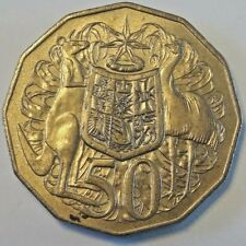 50 CENT 1981 AUSTRALIA FIFTY CENT COIN  KM#68 ELIZABETH II