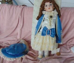 BRU JNE Reproduction Doll 24'' Renee - Number 1072/2000 W/Original Box