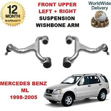 FOR MERCEDES ML270 ML400 CDI 1998-> 2X FRONT SUSPENSION UPPER TRACK CONTROL ARMS