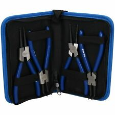 """4pc professional 7"""" circlip plier / pliers set in a carry case AT336"""