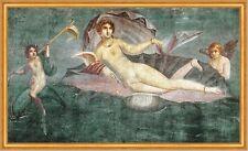 Geburt der Venus Muschel Pompeii Neapel Antike Fresko Göttin LW Pompeji A2 17