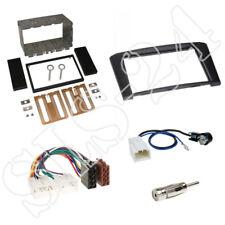 Toyota Avensis T25 ab03 Doppel 2-DIN Radioblende Einbaurahmen + ISO Adapterkabel