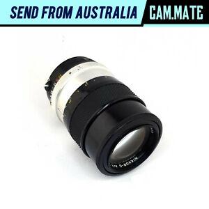 Nikon Nikkor-Q Auto 135mm F/2.8 Lens Integrated Retractable Hood [Fungus] N8146