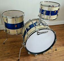 Vintage Premier Elite Drum Kit 22 13 16