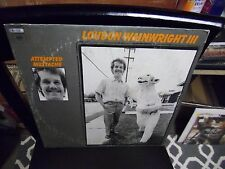 Loudon Wainwright III Attempted LP 1973 Columbia Records VG+