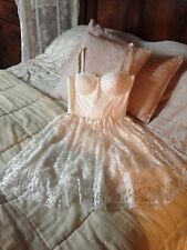 Beautiful Boned Temperley of London Dress 12 Ivory Lace